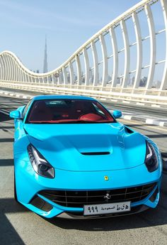 Ferrari F12 Berlinetta! That Colorado doe