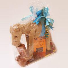 Boy Camel Hamper by Godiva® Ramadan Gifts, Hamper, Lion Sculpture, Statue, Boys, Shopping, Senior Boys, Sons, Sculpture