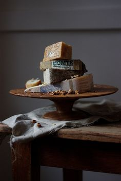 Comte happens to be our favourite French cheese over here at Who said cake plates were only for cakes! Fromage Cheese, Comte Cheese, French Cheese, Cheese Shop, Artisan Cheese, Cheese Platters, Cheese Table, Food Platters, Wine Cheese
