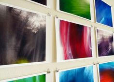 Move around a lot while taking photos. | 39 Easy DIY Ways To Create Art For Your Walls