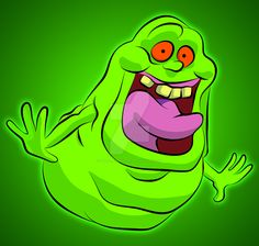 Slimer by MartynTranter.deviantart.com on @DeviantArt