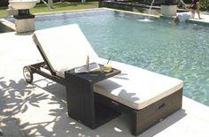 U shaped tray table design leisure ways patio sun furniture outdoor rattan… Sun Chair, Used Chairs, Outdoor Furniture, Outdoor Decor, Outdoor Ideas, Occasional Chairs, Modern Sofa, Sun Lounger, Outdoor Gardens