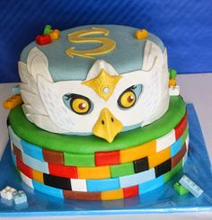 Wollie's World of Cakes: Lego Chima taart