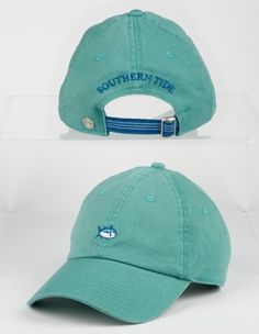 4291ef2e The Skipjack hat is made of cotton. - The front of the hat features an  embroidered Southern Tide emblem while the back includes