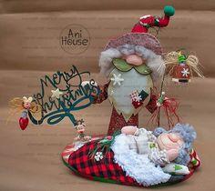 Christmas Crafts, Merry Christmas, Xmas, Christmas Ornaments, Happy Holidays, Art Dolls, Santa, Crafty, Holiday Decor