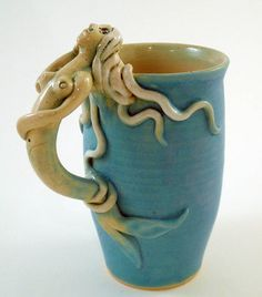Mermaid Mug- love this!