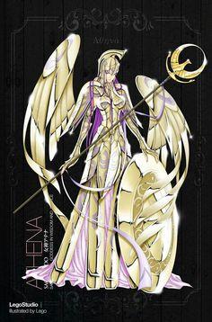Athena Saint Seiya Los Caballeros del zodiaco