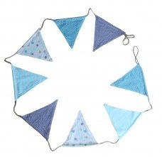 Gisela Graham Shoreline Mix & Match Fabric Bunting