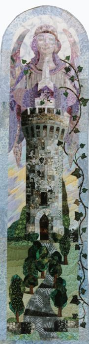 """""""Guardian of Memories."""" by Bobbie Sullivan.This made me think of what I would include in a quilt with this title."""