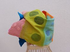 gifel felt felted scarf