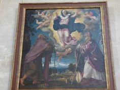 Pala della Madonna Assunta,Jacopo Da Ponte.Duomo di Asolo.
