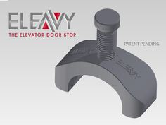 ($19.99) The New Eleavy Elevator Door Stop, is the newest tool to revolutionize the moving industries. It simply connects to the button panel to hold the door open while you move large items in or out of the elevator. It