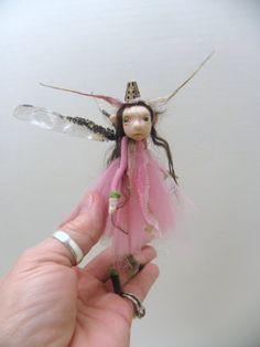 little pink pixie fairy by DinkyDarlings