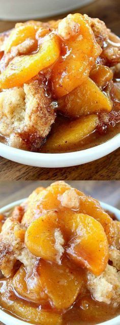 When you bake this Fresh Peach Cobbler recipe from Great Grub, Delicious Treats…