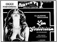 """Le goditrici"" (Les jouisseuses, 1975) di Lucien Hustaix, con Frédérique Barral e Claudine Beccarie. Italian release: February 21, 1980 #MoviePosters"