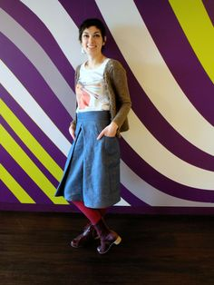 Thewallinna and other creatures: Burda Style pattern knock-off