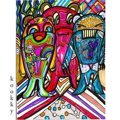 Love~hate~happines . Art by mrkookky