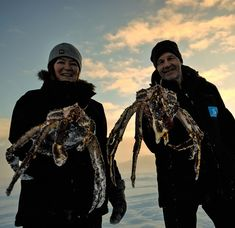 King Crab Safari Winter | Norway | Snowhotel Kirkenes Red King Crab, Alaskan King Crab, Kirkenes, Deadliest Catch, Fishing Adventure, Norway, Safari, Winter, Travel