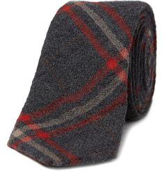 Wool Ties | Alexander Olch The Penn Plaid Wool Tie 1 600x626