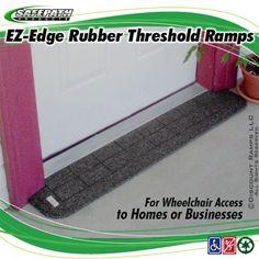Threshold Wheelchair Ramps By EZ-Edge