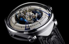 Vianney Halter Deep Space Tourbillion - incredible engineering