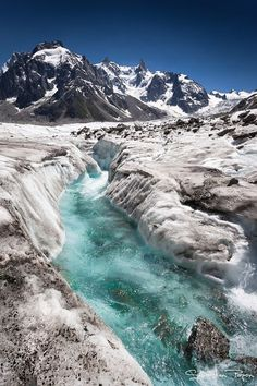La mer de glace, Chamonix, Haute-Savoie