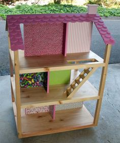 Birthday Doll House for Granddaughter | Do It Yourself Home Projects from Ana White                                                                                                                                                                                 More