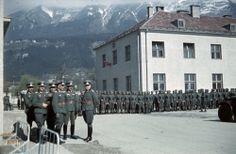 4th Mountain Division Enzian, Gebirgs artillerie rgt. 94, Innsbruck 1940, pin by Paolo Marzioli