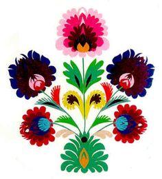 Graphic flower print