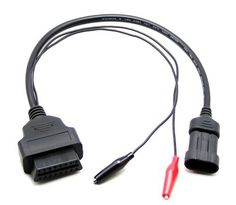 Elandpower OBD OBD2 16 Pin Connector Diagnostic Adapter for FIAT 3 Pin by OBD-HotSales. $11.95. This item allows you to connect compatible diagnostic tools on a FIAT vehicle fitted with a 3 pin socket with your existing 16 pin OBD tool.   Note: before you buy, pls confirm if the connector adapter in the photos is fit for your requirement.