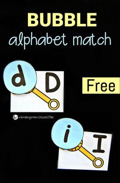 Match upper and lowercase letters with this fun bubble alphabet match! Perfect to print and play in spring and summer, or anytime. Alphabet Activities Kindergarten, Activities For Autistic Children, Bubble Activities, Teaching The Alphabet, Preschool Letters, Letter Activities, Phonics Activities, Kindergarten Centers, Kindergarten Literacy