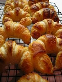 The Dough, for Croissants, Pain au Chocolat, etc....  Copied fairly accurately from an article in France Magazine, 'Pastry from Heaven', by Michelin-star chef, Michel Roux.