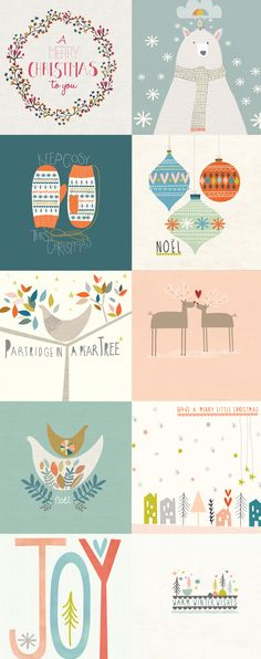 christmas printables - this is like. the best thing ever. :D cool graphic digi prints contemporary illustrations for use in christmas cards and wall art Merry Little Christmas, Noel Christmas, Winter Christmas, All Things Christmas, Christmas Vacation, Best Christmas Cards, Christmas Card Designs, Christmas Desktop, Christmas Doodles