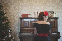 Hair: Hair by Jess Mac. Mac Makeup, Camilla, Off Shoulder Blouse, Photoshoot, Christmas, Photography, Vintage, Clothes, Women