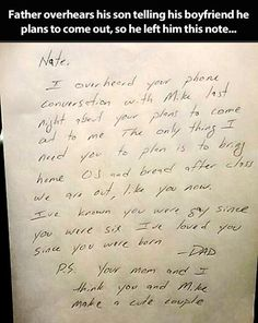 Father reaction after overhearing his son's plans…