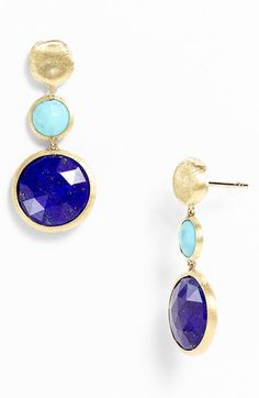 Marco Bicego 'Jaipur' Semiprecious Stone Drop Earrings available at Nordstrom $1,230.00