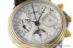 Maurice Lacroix Phase de Lune  Stahl / Gold Automatik Kal. ETA 7751 Ref. 02336  | 152447