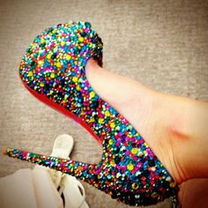 This captures my whole personality in a shoe!