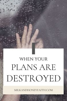 The plans we make sometimes don't go as expected and we can be left feeling frustrated. But what if there is a good reason when things don't go as planned? Christian Post, Christian Women, Christian Living, Christian Faith, The Hard Way, That Way, Feeling Frustrated, Let God, Christian Encouragement