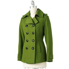 Green Tea Peacoat...I have wanted a green peacoat for about 3 years now and have yet to find one.  One of these days I will!!