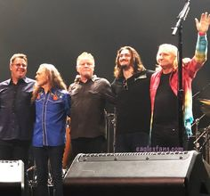 Great show tonight in Tulsa! They did Tulsa Time as a special treat. Eagles Music, Eagles Lyrics, Eagles Band, Joe Walsh Eagles, History Of The Eagles, Tulsa Time, Randy Meisner, Vince Gill, Glenn Frey