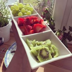 Healthy fruit snack Healthy Fruit Snacks, Strawberry, Food, Essen, Strawberry Fruit, Meals, Strawberries, Yemek, Eten