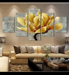 Cheap 5 panel pictures, Buy Quality modular pictures directly from China picture canvas Suppliers: 5 Panel Pictures Canvas Painting Gold Orchid Flower Painting Wall Art Decorative Canvas Wall Art Modular Picture(Unframed) 3 Piece Wall Art, Panel Wall Art, Canvas Wall Art, Wall Art Prints, Canvas Prints, 5 Piece Canvas Art, Ocean Canvas, Wall Canvas, Canvas Frame