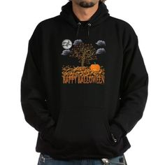Happy Halloween Hoodie on CafePress.com