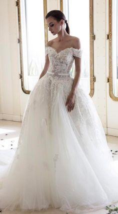 954583618d55 58 Best Off the Shoulder Wedding Dresses images in 2019