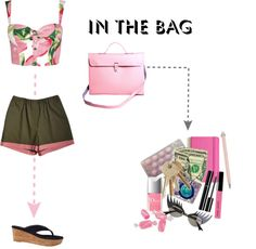 """My bag and me"" by sandralobo ❤ liked on Polyvore"