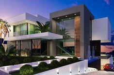 Projeto: Casas modernas por Gramaglia Arquitetura #fachadasmodernasresidenciais