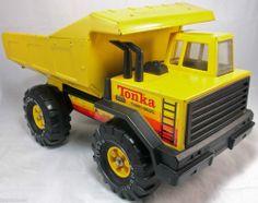 Tonka Turbo Diesel Mighty Dump Truck Vintage 1970 1980 Heavy Duty Construction