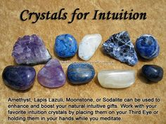 Intuition: amethyst,