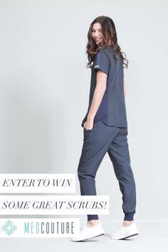 Fashion Scrubs for Medical Professionals Cute Nursing Scrubs, Nurse Scrubs, Medical Scrubs, Nursing Clothes, Scrubs Outfit, Scrubs Uniform, Dental Uniforms, Med Couture Scrubs, Doctor Scrubs